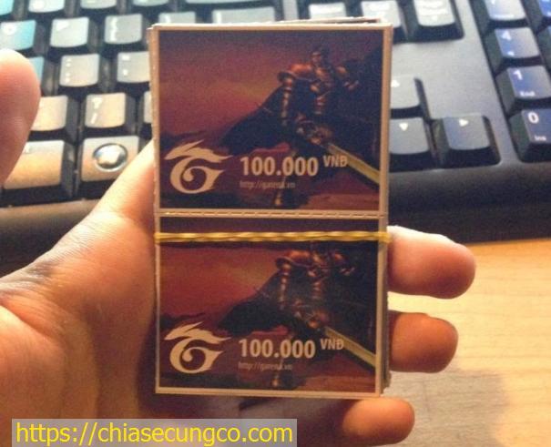 Thẻ Garena là gì?