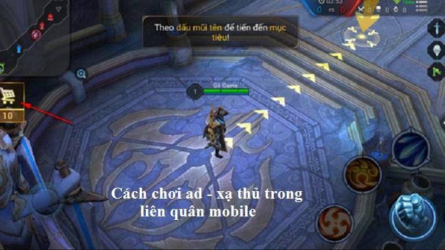 Cách chơi ad xạ thủ trong liên quân mobile