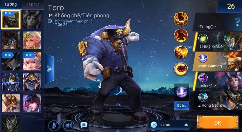 Tướng tank Toro