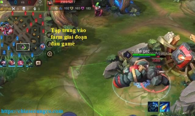 Cách chơi Triệu Vân đi rừng đầu game