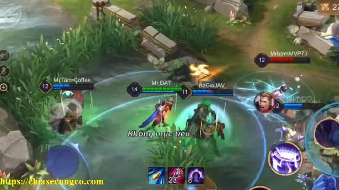 Cách chơi Triệu Vân đi rừng giữa game