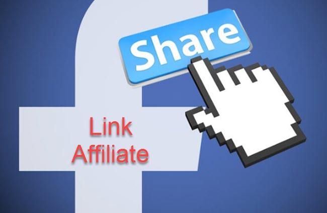 Chia sẻ link affiliate một cách mơ hồ trên mạng