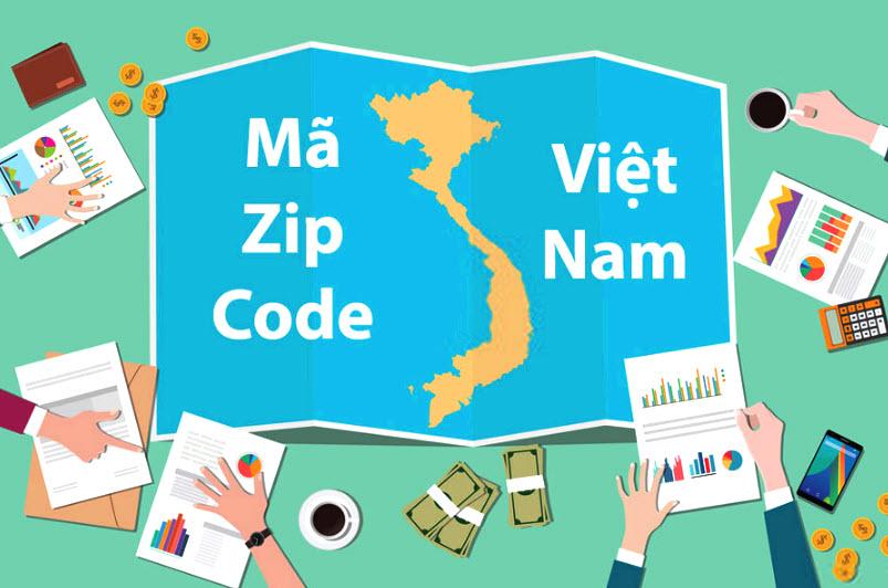 Zipcode 63 tỉnh thành Việt Nam