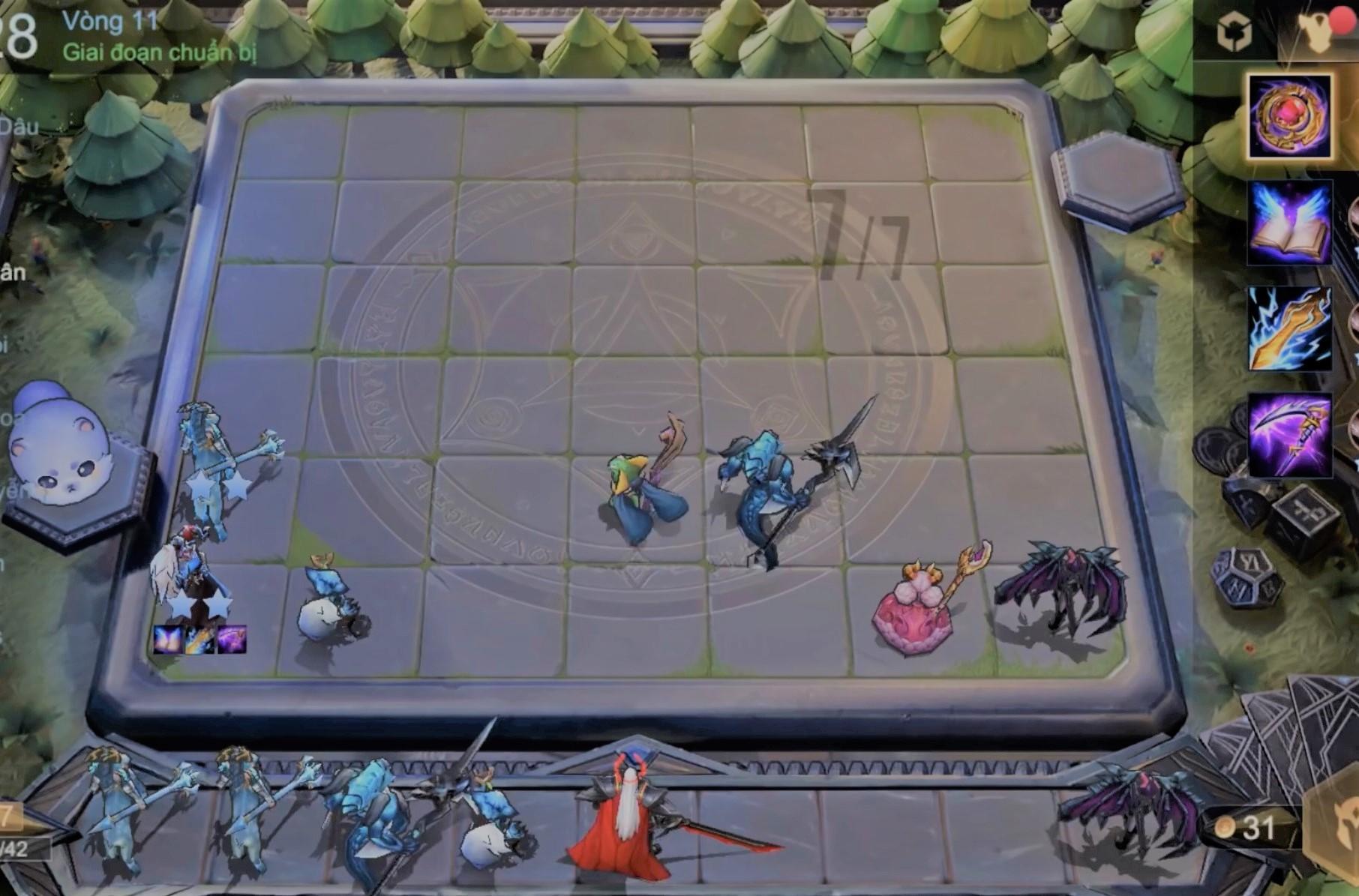 Cách chơi đội hình Thú nhân - Ma tộc giai đoạn giữa game