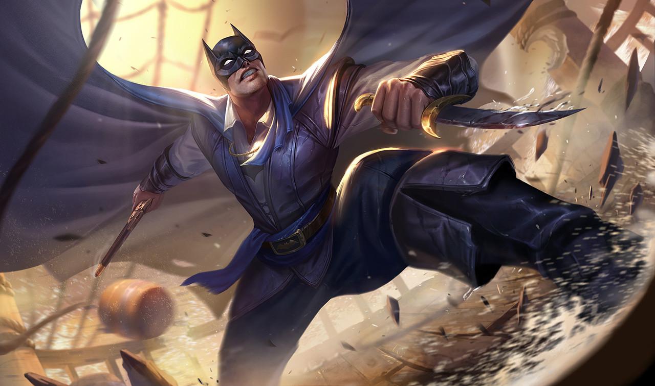 Hướng dẫn cách lên đồ cho vị siêu anh hùng Batman