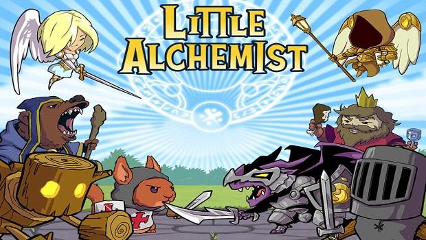 Trải nghiệm lần đầu chơi game Little Alchemist