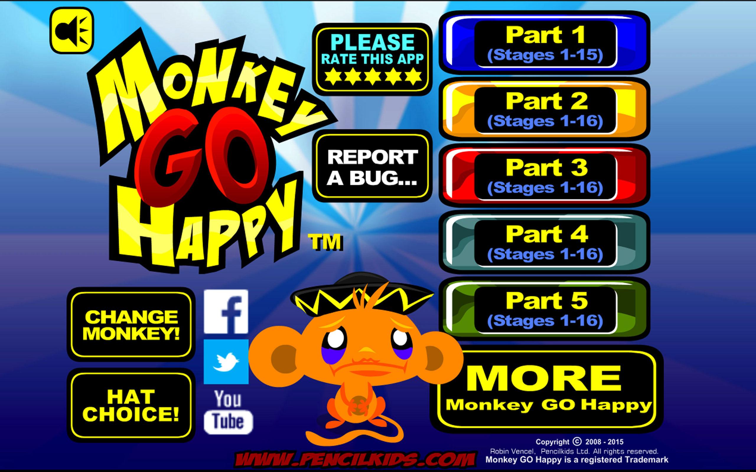 Monkey GO Happy – Game giải đố tìm đường thú vị cho bạn mỗi ngày
